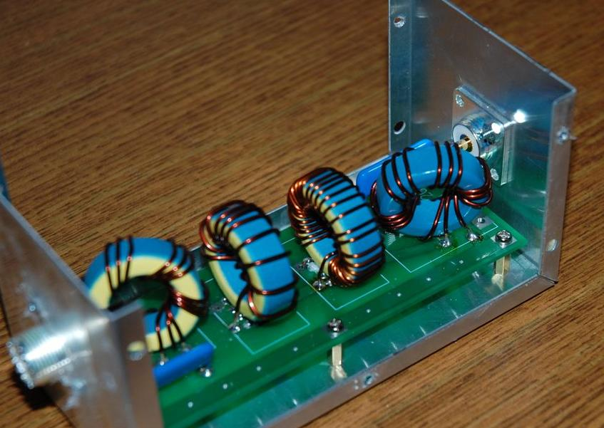 20M Band Low Power BPF – VA6AM Projects